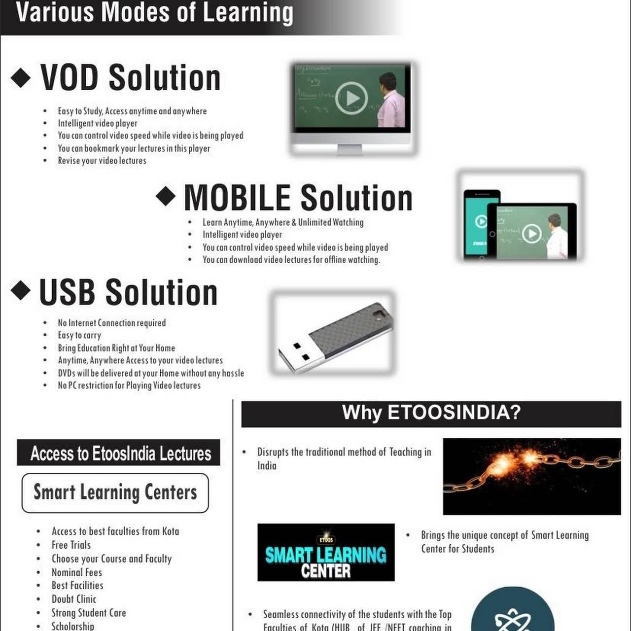 Etoos Kashmir Smart Learning Center - IIT I JEE I NEET I
