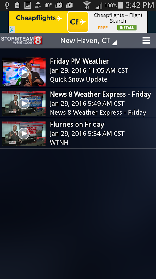 StormTeam8 - WTNH Weather- screenshot