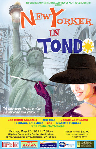 essay about new yorker in tondo New yorker in tondo by: marcelino agana, jrthe cast:kikay / francesca – a tondo girl who has just returned from new y.
