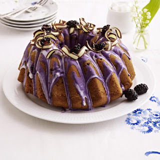 Blackberry Yogurt Cake