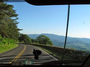 Photo: K8GP / Rover - Skyline Dr. Shenandoah looking south
