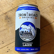 Iron Road Locomotive Lager Beer