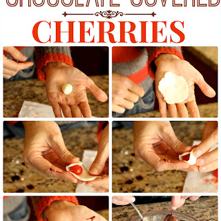 Old Fashioned Chocolate Covered Cherries