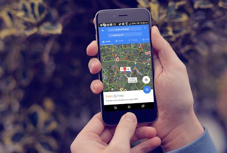 GPS tras & Maps - náhled