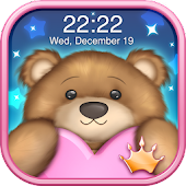 Cute Teddy Bear Live Wallpaper: Background Themes