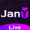 Janu Live -Live Video Call, Random Girl Video Chat icon
