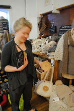 Photo: Toft Alpaca shows a Large Button. Sorry about the turning head...
