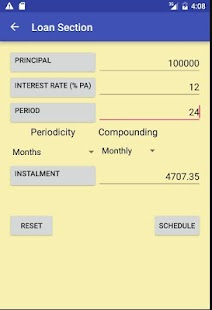 Interest(ing) Calculator- screenshot thumbnail