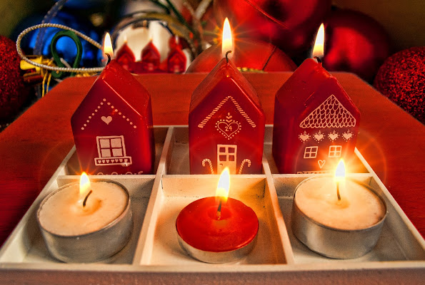 Calde fiammelle natalizie... di Gianluca Presto