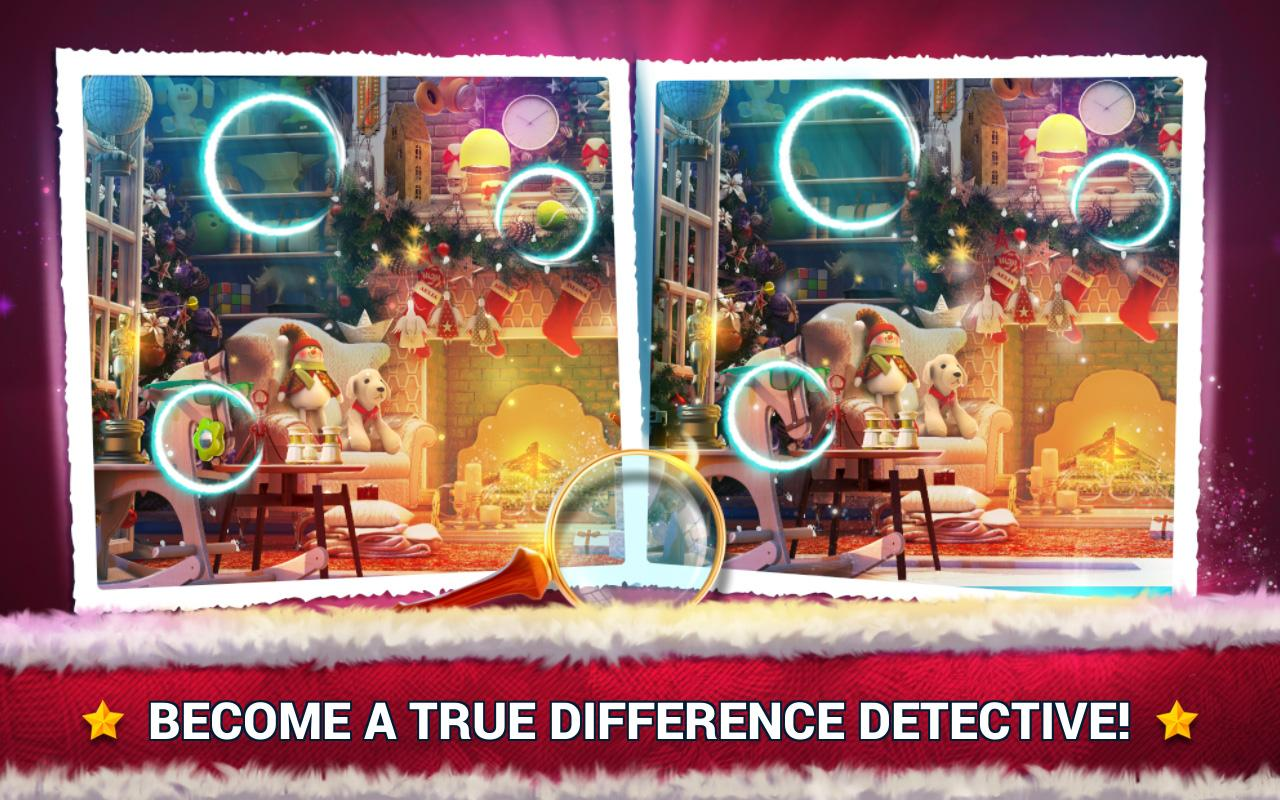 Find the Difference Christmas – Spot It- screenshot