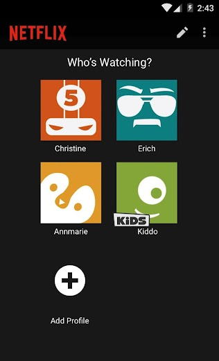 Screenshot 2 for Netflix's Android app'