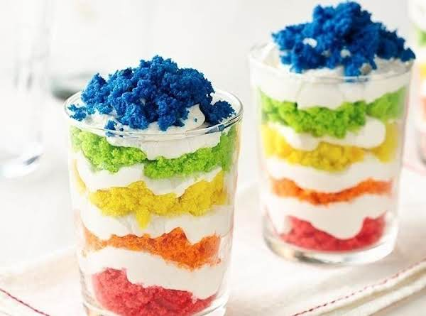 End Of The Rainbow Cookie Parfaits Recipe