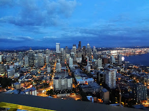 Photo: We headed up the Space Needle