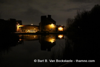 Brick Works by night