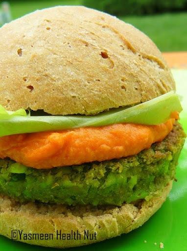 Health Nut: Vegan Edamame Burger
