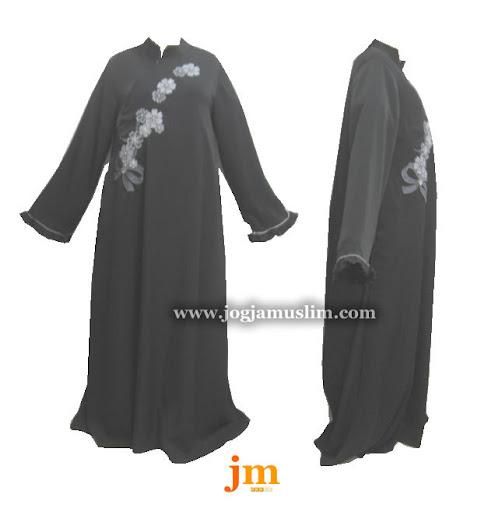 Jual Murah Pakaian Muslim Jubah Akhwat Accessories Bunga