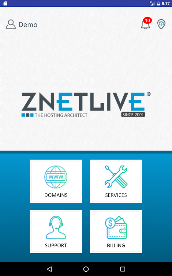 ZNetLive- screenshot