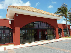 Photo: #005-La réception du Club Med Cancún Yucatán.