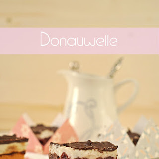 Donauwelle {Marble Cake with Cherries, Buttercream & Chocolate}.