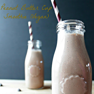 Peanut Butter Cup Smoothie.