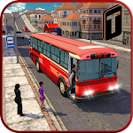 City Bus Driving Mania 3D Icon