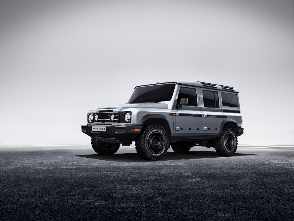 Ineos Grenadier 4x4 aims to turn back the hands of time