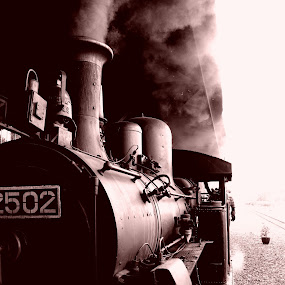 The Old One by Norbertus Andreanto Photos - Transportation Trains ( old, locomotive, train, java, antique )