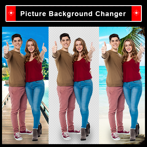 Auto Cut-Out : Cut-Paste Photo Background Changer