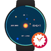 Outer Space watchface by Digit X