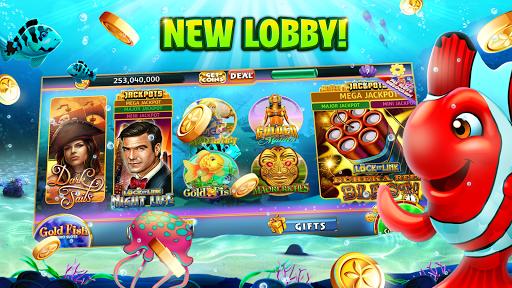 Gold Fish Casino Slots - FREE Slot Machine Games apkpoly screenshots 2
