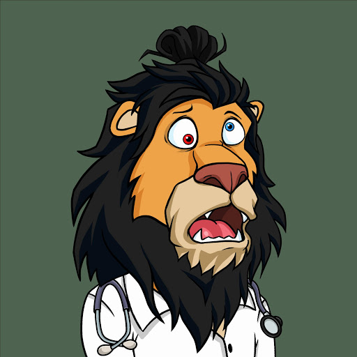 Lazy Lions #7208