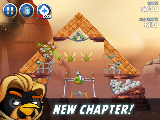 Angry Birds Star Wars II Free screenshot 16