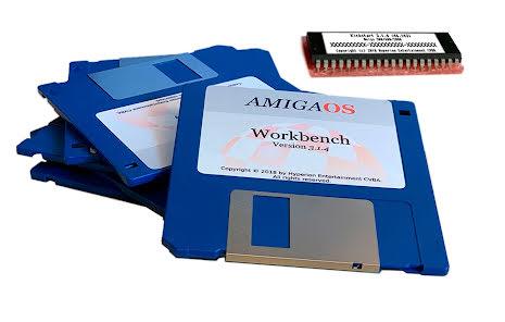 AmigaOS 3.1.4 för Amiga 4000 desktop