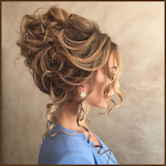 Hair Style Steps for Women Icon