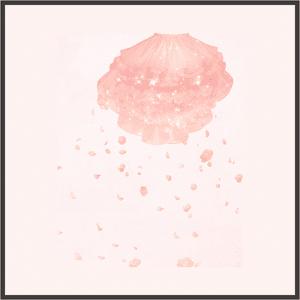 ピンクのレースドレス-下