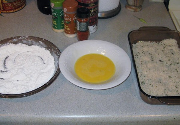 Dish #1  Put together sifted flour, 1/2 tsp. regular table salt, black pepper,...