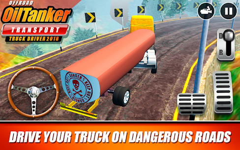 Offroad Oil Tanker Transport Truck Driver 2018 MOD (Unlimited Money) 7