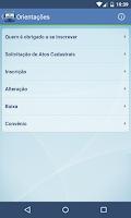 Screenshot of CNPJ