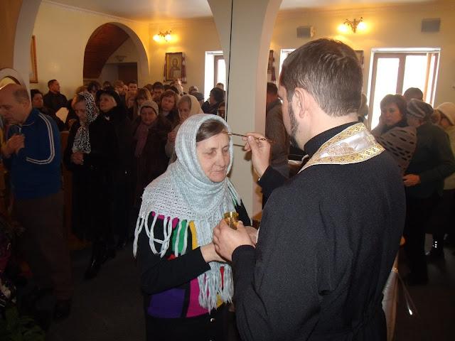 Мощи святого Пантелеймона (Одесса) и помазание освященным миром