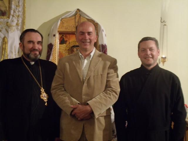 Епископ Василий Ивасюк, Антун Лисец, священник Руслан Остафий