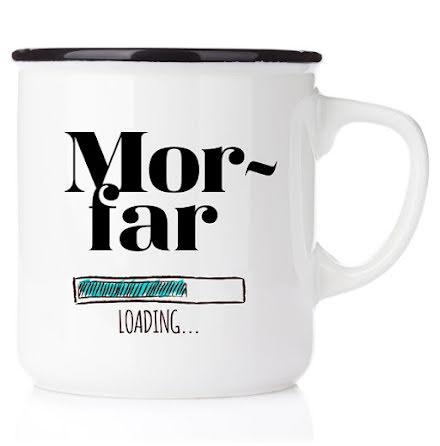 Emaljmugg - Morfar loading