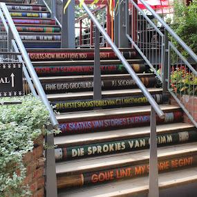 stairway of knowledge by Christiaan Bossert - City,  Street & Park  Markets & Shops (  )