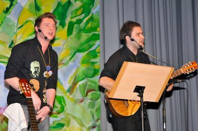 Die Salmefääger Stefan Blust und Philipp Müller