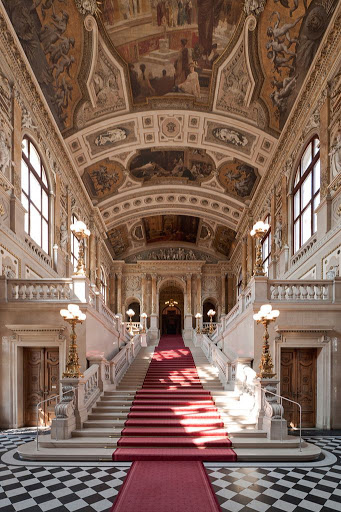 Grand escalier Burgtheater
