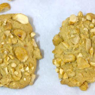 Salted Peanut Toffee Cookies