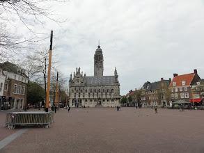 Photo: Nog even terugblikken op het Middelburgs stadhuis.