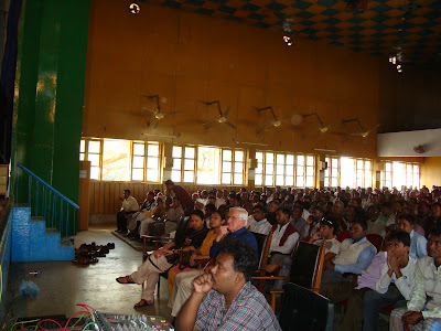 A political meeting in Rajshahi, Bangladesh 2008