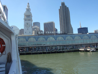 Pulling away from San Francisco's Ferry Building