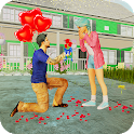 Virtual Girlfriend My Neighbour: life love story icon