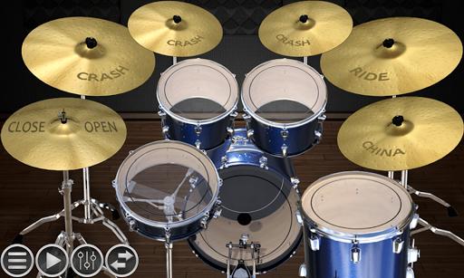 Simple Drums Basic - The Realistic Drum Simulator fond d'écran 1